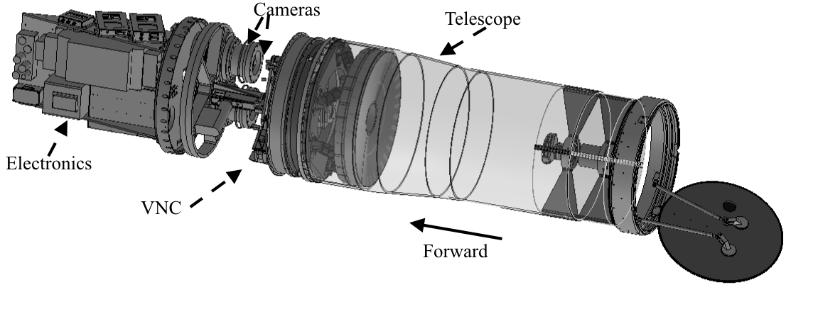 CAD Rendering of PICTURE payload