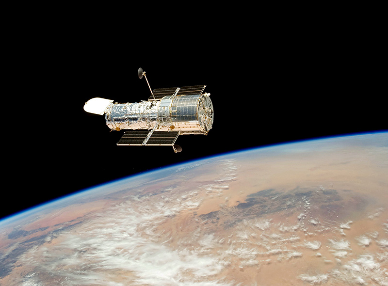 Hubble Space Telescope, courtesy STScI